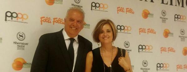 Presidente del CIT en Premios Naranja-Limón
